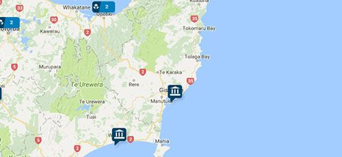ANZ Branches - East Coast