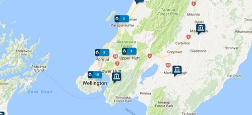 ANZ Branches - Wellington