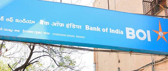 Bank of India Branch