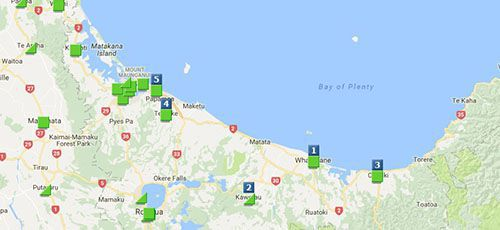 Kiwibank Branches ATMs - Bay of Plenty