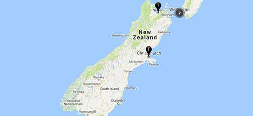 TSB Branches - South Island