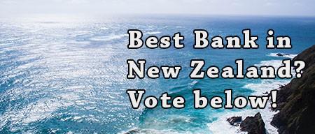 Best Bank in New Zealand Vote Below