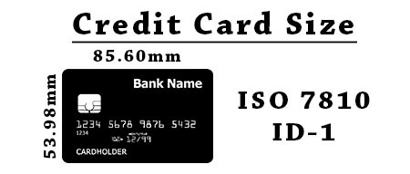 Credit Card Size - Interesting Facts